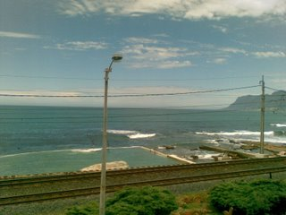 View from Kalk Bay Beach Front Apartment